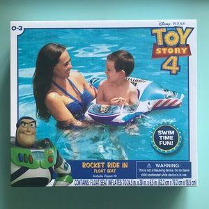 Toy Story Rocket Ride In Float Seat Buzz Lightyear